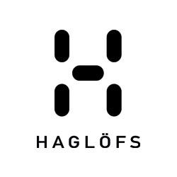 Das Bild zeigt das Logo der Firma Haglöfs. Die Firma stellt unter anderem Ausrüstung zum Gleitschirmfliegen her.