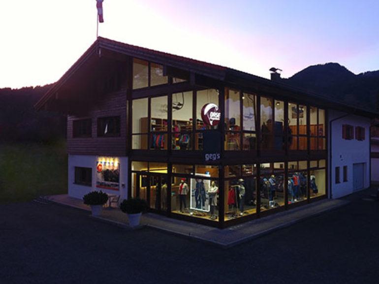 Oase Flugschule Gebäude