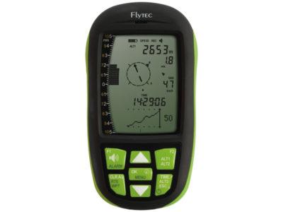 Flytec Element Track grün Vario von vorne