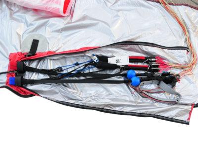 Gin Gliders Concertina Bag Zellenpacksack mit Kompressionsband für den Gleitschirm mit Tragegurt