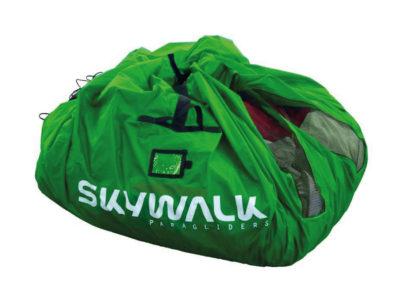 Skywalk Schnellpacksack grün für den Gleitschirm