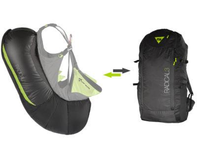 Supair Radical 3 Airbag für Sicherheit beim Gleitschirmfliegen