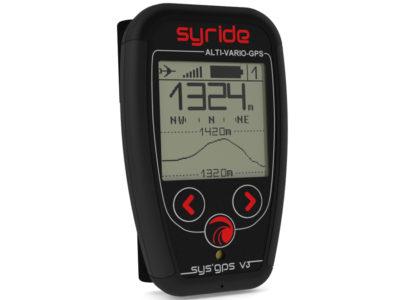 Syride Sys GPS V3 Vario zum Gleitschirmfliegen