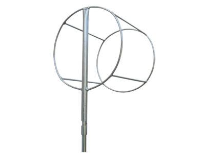 Windsack Korb mit einem Durchmesser von 30 cm