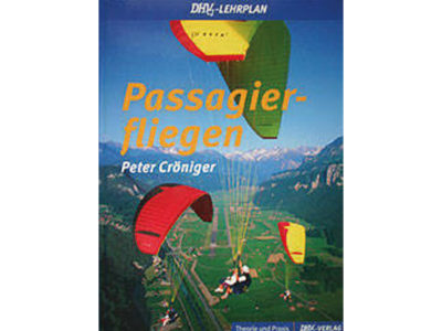 Tandem Gleitschirm Buch Lehrplan Passagierfliegen