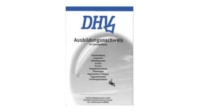 DHV Ausbildungnachweisheft Log Book