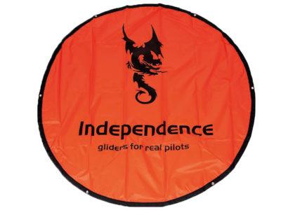 Independence Landepunkt für die Punktlandung zum Gleitschirmfliegen