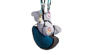 Nova Spielzeug Gleitschirm mit Teddy