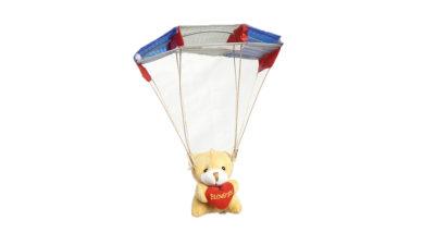 ProDesign Mini Gleitschirm Modelgleitschirm mit Teddy und Herz
