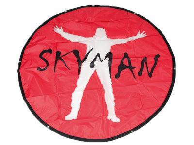 Skyman Landepunkt Punktlandung Gleitschirmfliegen