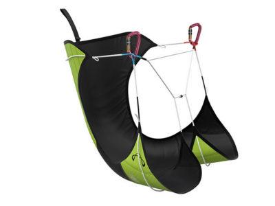 Advance Strapless Leichtgurt Gleitschirm Gurtzeug für Bergsteiger und Hike and Fly von schräg vorne