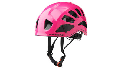 AustriAlpin Flughelm Kletterhelm für Hike and Fly pink