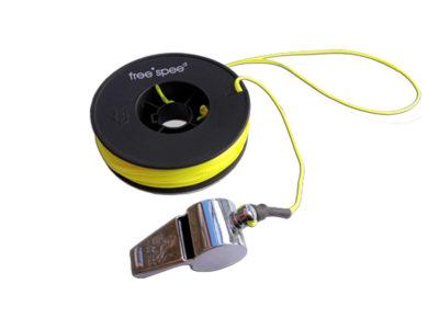 FreeSpee Rettungsschnur mit Signalpfeiffe Notfall Gleitschirmfliegen