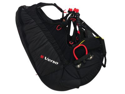Gin Gliders Verso 2 Wendegurtzeug mit Airbag Protektor zum sicheren Gleitschirmfliegen