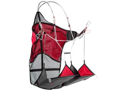 Nova Montis Leichtgurtzeug zum Gleitschirmfliegen für Bergsteiger von der Seite