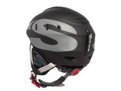 Supair Flughelm School schwarz Helm zum Gleitschirmfliegen von hinten