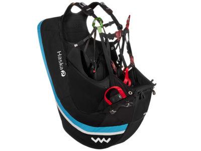 Woody Valley Haska 2 Wendegurtzeug mit Airbag und Feder von der Seite