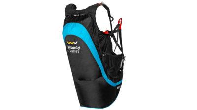 Woody Valley Wani Light Wendegurtzeug zum Gleitschirmfliegen mit Airbag Protektor und Vorfüllsystem