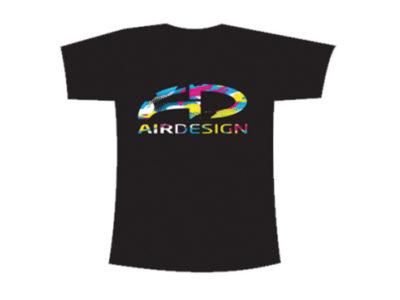 AirDesign T-Shirt Herren Camo von vorne