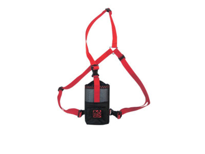Gin Gliders Funkgerätetasche zum Gleitschirmfliegen rot