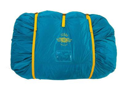 Icaro Schnellpacksack blau gelb