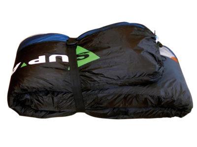Super Rolling Pack Zellenpacksack fuer den Gleitschirm gefaltet
