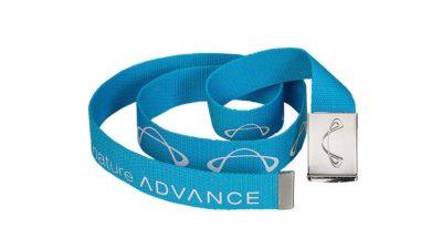 Gleitschirm Bekleidung Advance Logo Belt blue