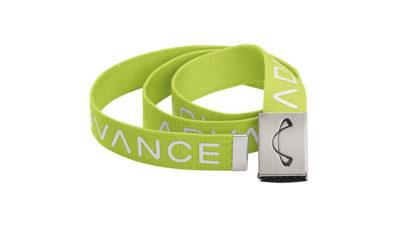Advance Gürtel mit Logo grün