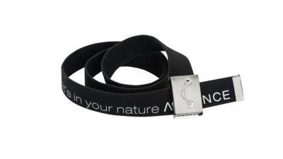 Advance Gürtel mit Logo schwarz