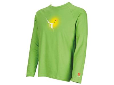 Gin Gliders Nano Langarm Shirt grün