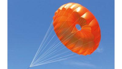 Rettung Rundkappe Independence Annular Evo im Flug