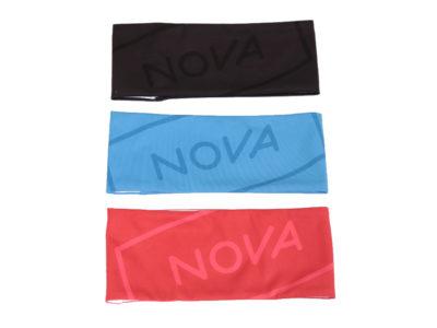 Nova Halswärmer in schwarz, rot und blau zum Pargliding