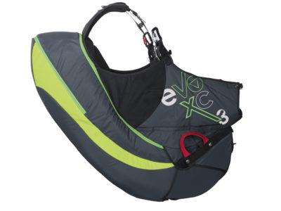 Supair Evo XC 3 Datenblatt Standard Gurtzeug mit Schaumstoff Protektor