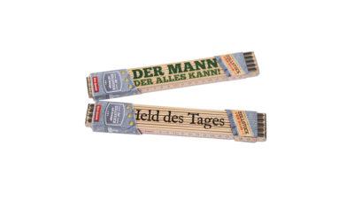 Gleitschirm Tandemflug Geschenk Zollstock Meterstab