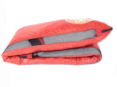 Oase Zellensack rot mit großem Oase Logo für Gleitschirme