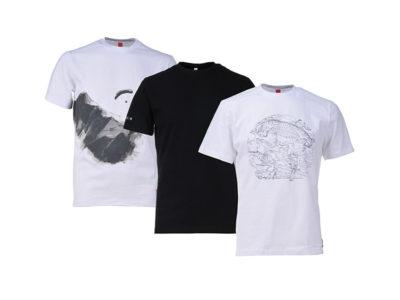 Gin Gliders Basic T-Shirt für Gleitschirmflieger zum Gleitschirmfliegen