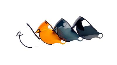 Icaro Nerv Visier verschiedene Farben für den Flughelm