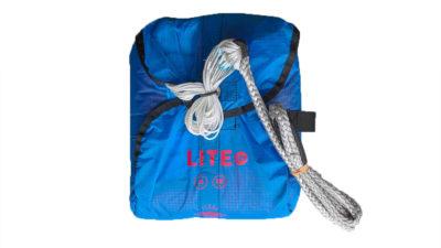 Icaro Lite Rettung Rundkappe Gleitschirm gepackt