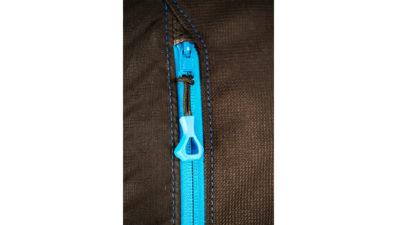Neo Classic Rucksack 110 Liter für die Gleitschirmausrüstung blauer Reissverschluss