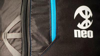 Neo Classic Rucksack 110 Liter für die Gleitschirmausrüstung Logo
