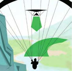 Ausweichregeln beim Gleitschirmfliegen Gleitschirm Ausweichen Hangsoaring Ausweichmanöver