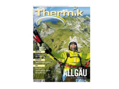 Thermik Ausgabe August