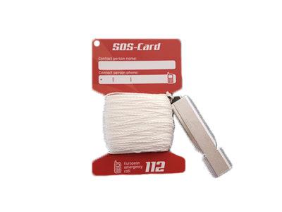Abgeflogen-SOS-Card