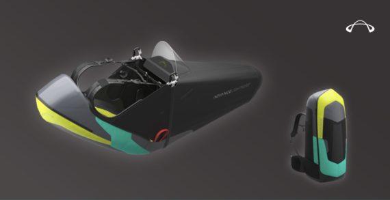 Das Bild zeigt das neue Liegegurtzeug Advance Lightness 3.