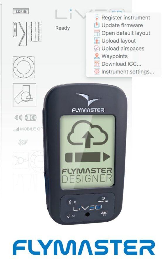 Flymaster Designer Gleitschirmfliegen Paragliding