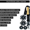 Alpin Loacker carbon Pro Faltstoecke